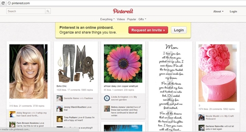 Attracting the prom crowd through Pinterest