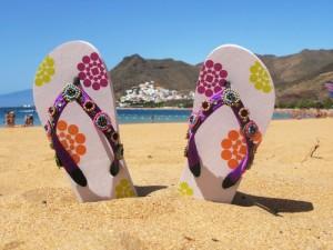 Best ways to display flip-flops