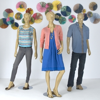 Display fall work attire for a range of businesses