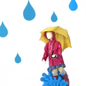 Umbrellas and rain boots and trench coats – oh my!