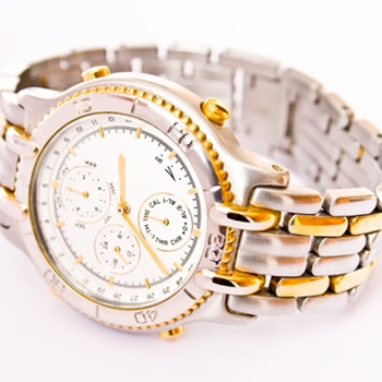 Watches are eye-catching on the right hand display
