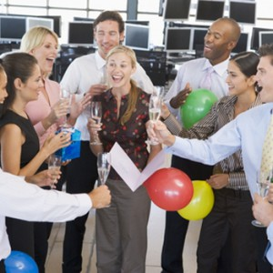 Host a post-holiday employee appreciation party