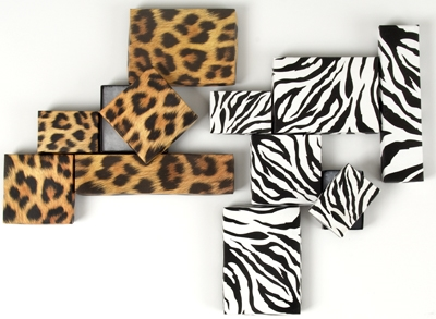Jazz up jewelry boxes with wild designs