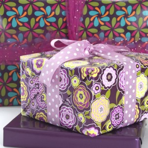 Stock up on floral and printed gift packaging for spring