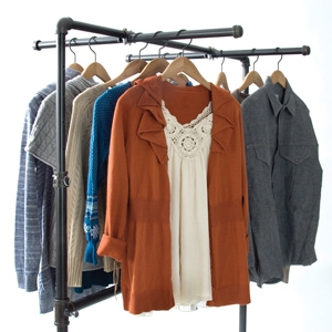 Move it and lose it: Use rolling racks to sell merchandise