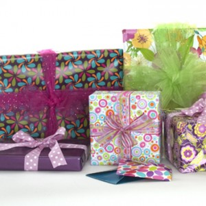 Packaging for gifts with some spring style