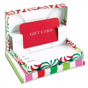 Promote gift cards this holiday season