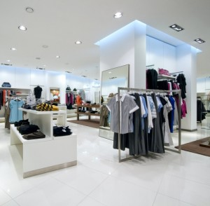 Raise the bar in a retail space with display cubes and risers