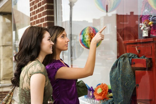 The history of window displays